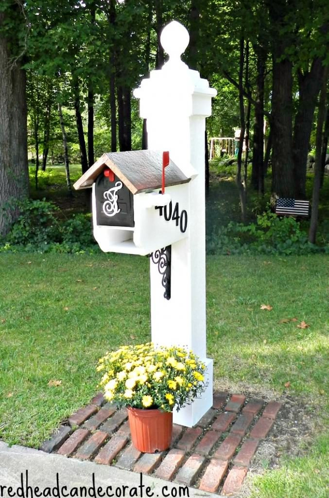 Best ideas about DIY Mailbox Post Ideas . Save or Pin You've Got Mail 11 Ways To DIY Your Mailbox Now.