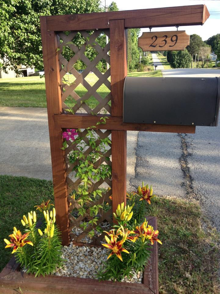 Best ideas about DIY Mailbox Post Ideas . Save or Pin 17 Diy Mailbox Ideas are sure to promote the appeal Home Now.