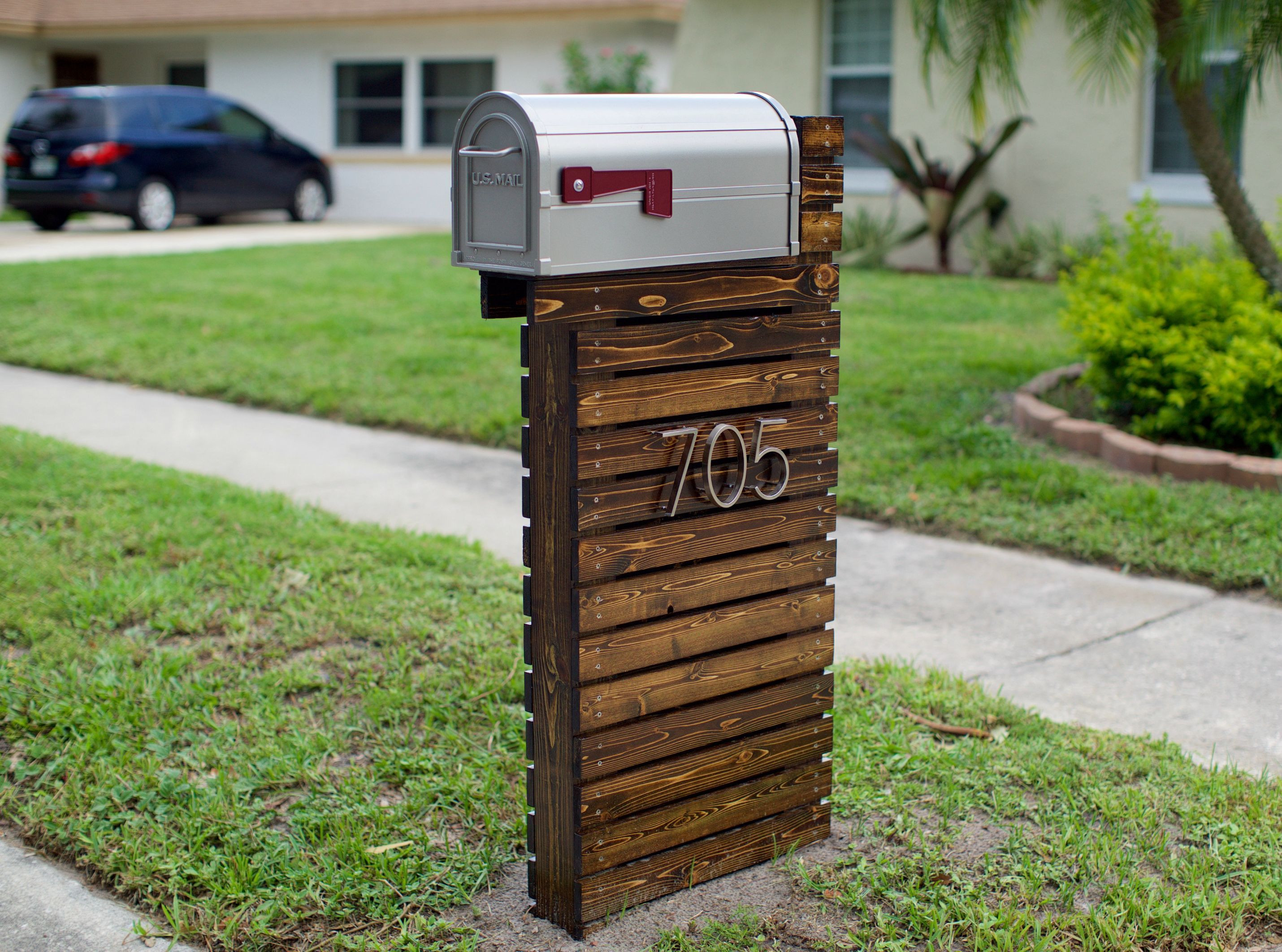 Best ideas about DIY Mailbox Post Ideas . Save or Pin Best 25 Diy mailbox ideas on Pinterest Now.