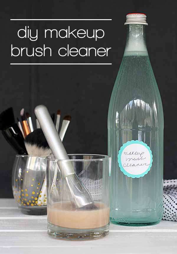 Best ideas about DIY Makeup Brush Cleaner . Save or Pin Makeup Brush Cleaner DIY it on the cheap Now.