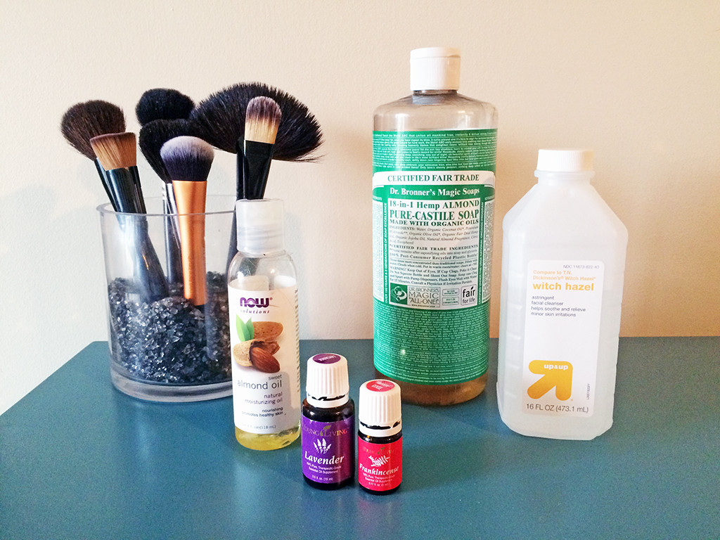 Best ideas about DIY Makeup Brush Cleaner . Save or Pin Homemade Makeup Brush Cleaner Now.