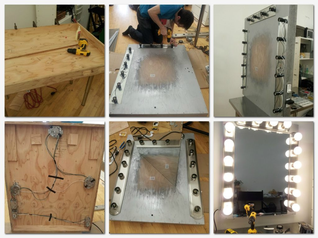 Best ideas about DIY Makeup Mirrors With Lights . Save or Pin Ideas for Making your Own Vanity Mirror with Lights DIY Now.