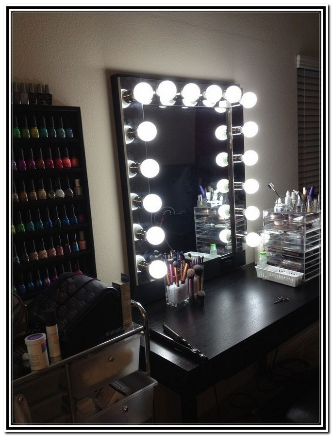 Best ideas about DIY Makeup Mirrors With Lights . Save or Pin Diy Makeup Mirror With Lights Cool Projects Pinterest Diy Now.