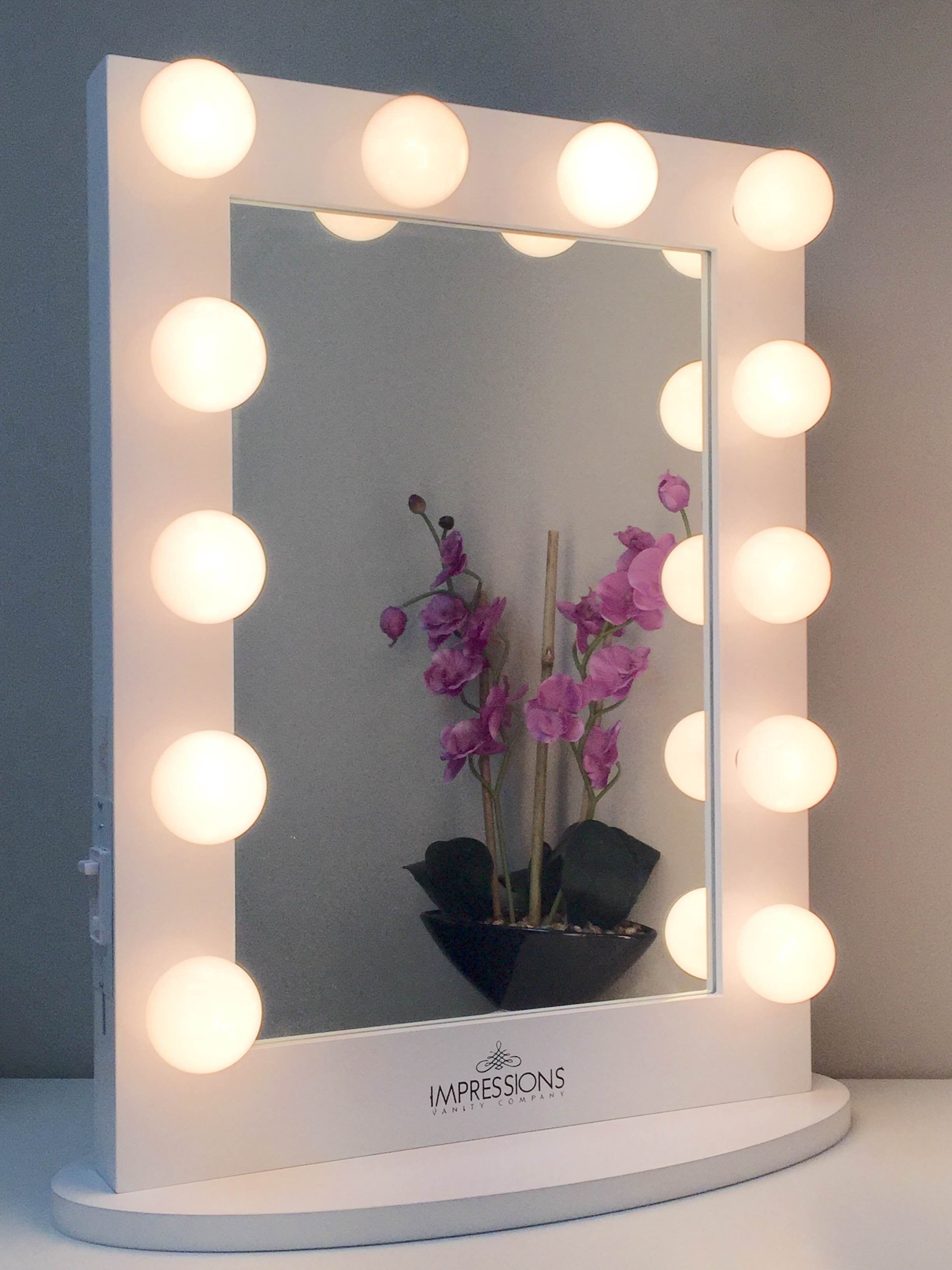 Best ideas about DIY Makeup Mirrors With Lights . Save or Pin Best 25 Hollywood vanity mirror ideas on Pinterest Now.