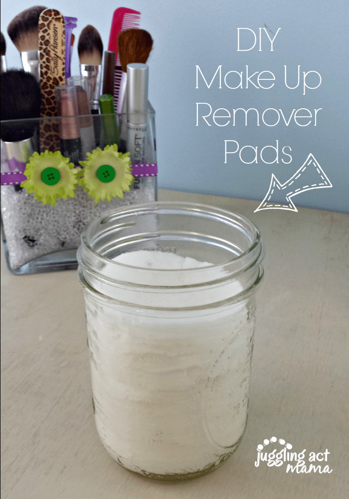 Best ideas about DIY Makeup Remover . Save or Pin DIY Makeup Remover Pads Juggling Act Mama Now.