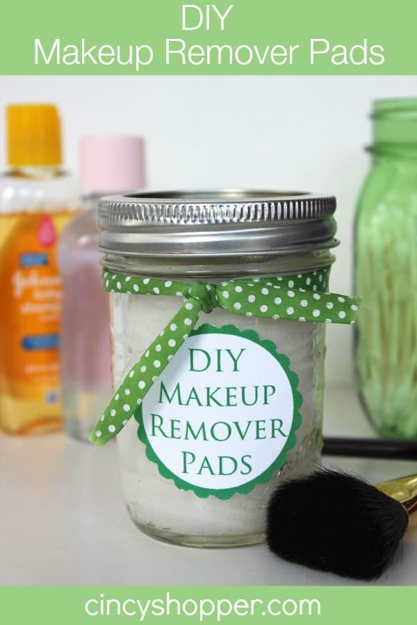 Best ideas about DIY Makeup Remover . Save or Pin DIY Makeup Remover Pads with FREE Printable Label Now.