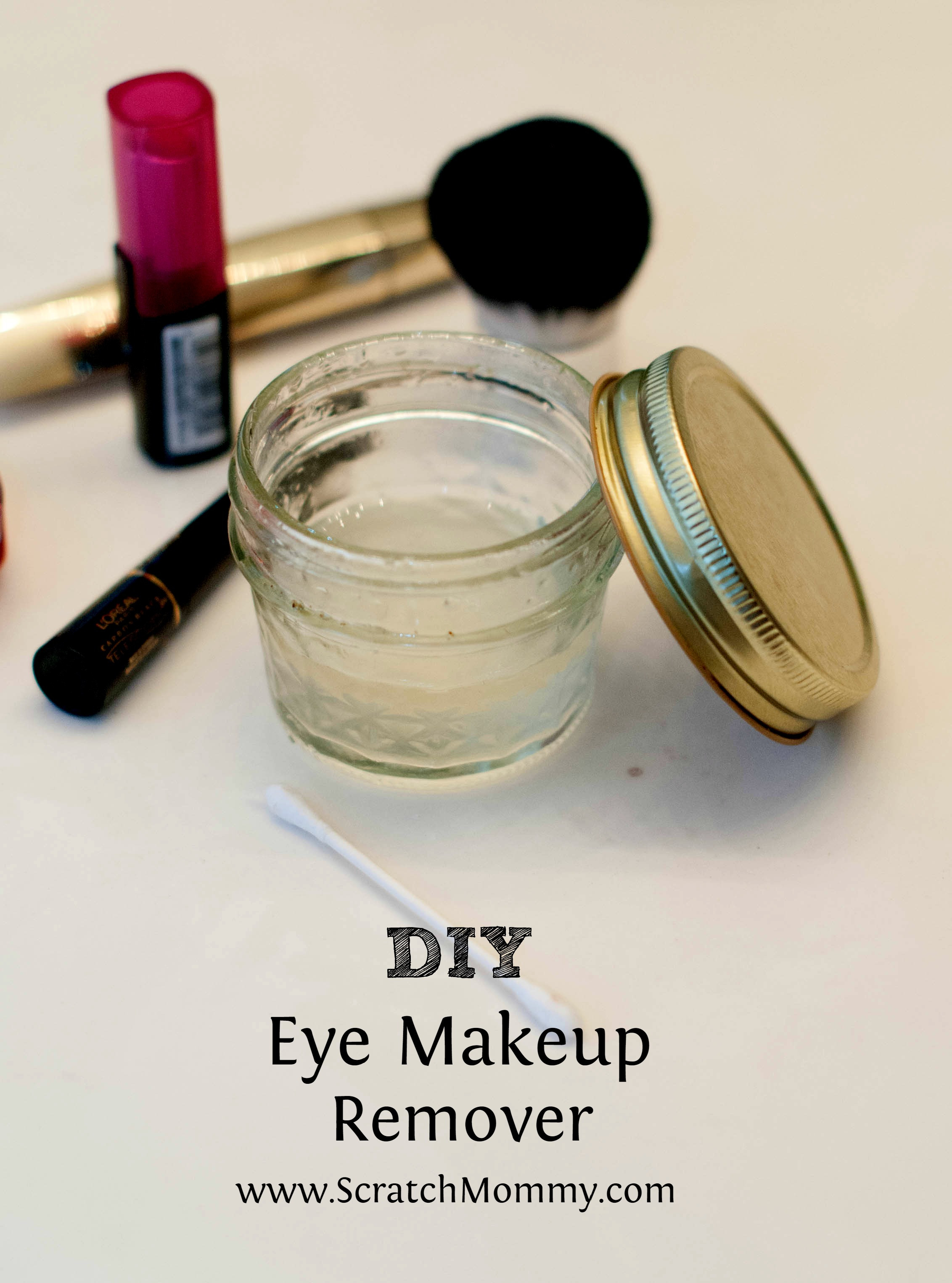 Best ideas about DIY Makeup Remover . Save or Pin DIY Eye Makeup Remover Pronounce Now.