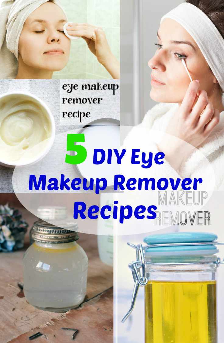 Best ideas about DIY Makeup Remover . Save or Pin 5 DIY Eye Makeup Remover Recipes Fabulessly Frugal Now.