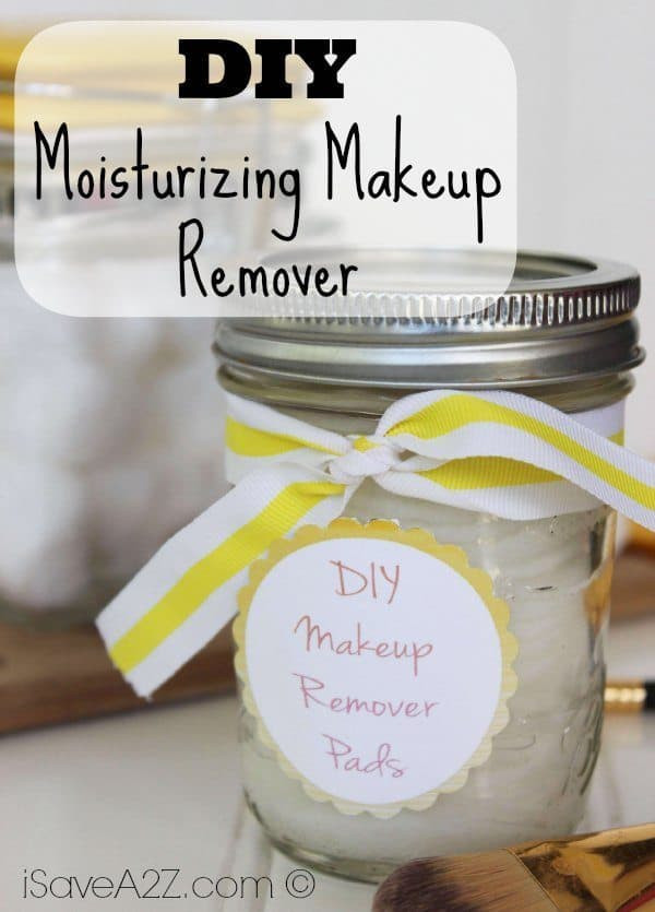 Best ideas about DIY Makeup Remover . Save or Pin DIY Moisturizing Makeup Remover iSaveA2Z Now.