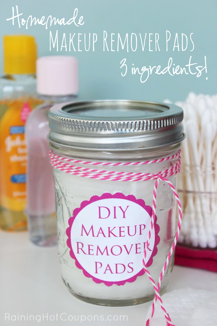 Best ideas about DIY Makeup Remover . Save or Pin DIY Makeup Remover Pads Now.