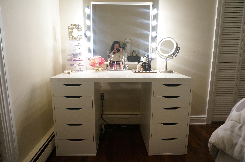 Best ideas about DIY Makeup Vanity Lighting . Save or Pin DIY Makeup Vanity – Made2Style Now.