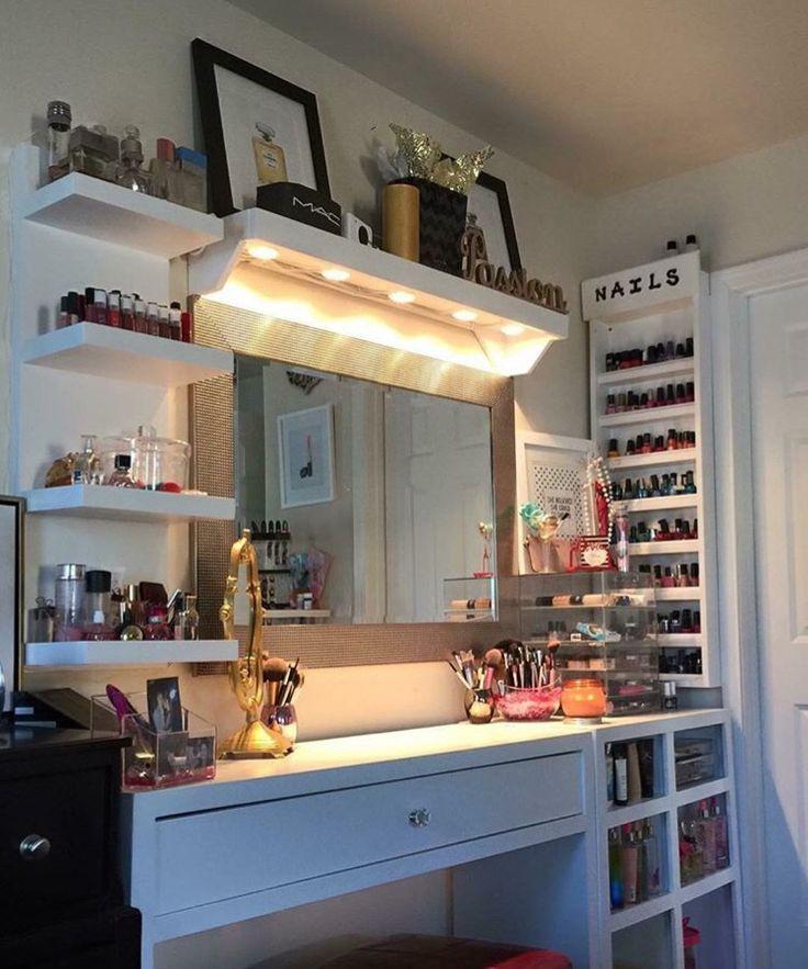 Best ideas about DIY Makeup Vanity Lighting . Save or Pin Best 25 Diy vanity mirror ideas on Pinterest Now.