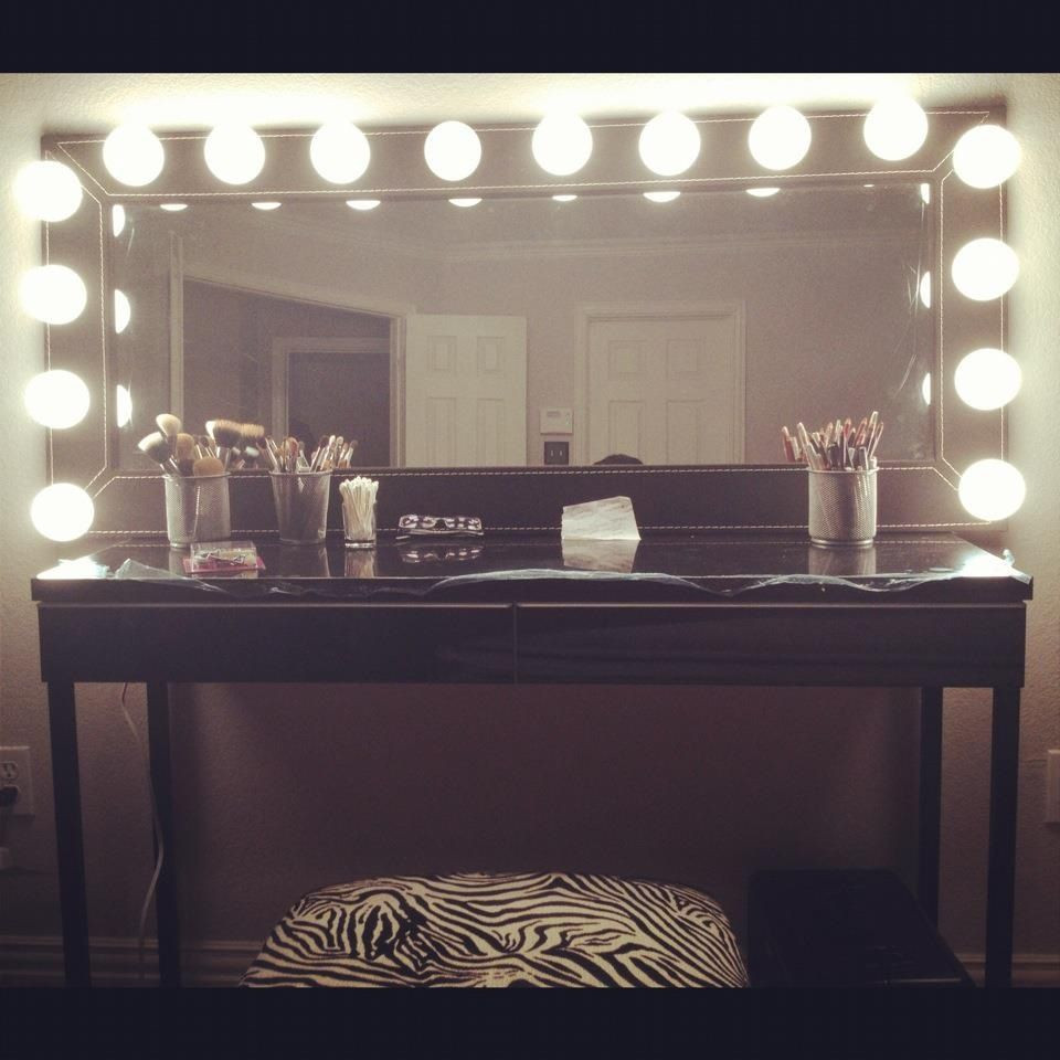 Best ideas about DIY Makeup Vanity Lighting . Save or Pin DIY Makeup Vanity Decorations and Creations Now.