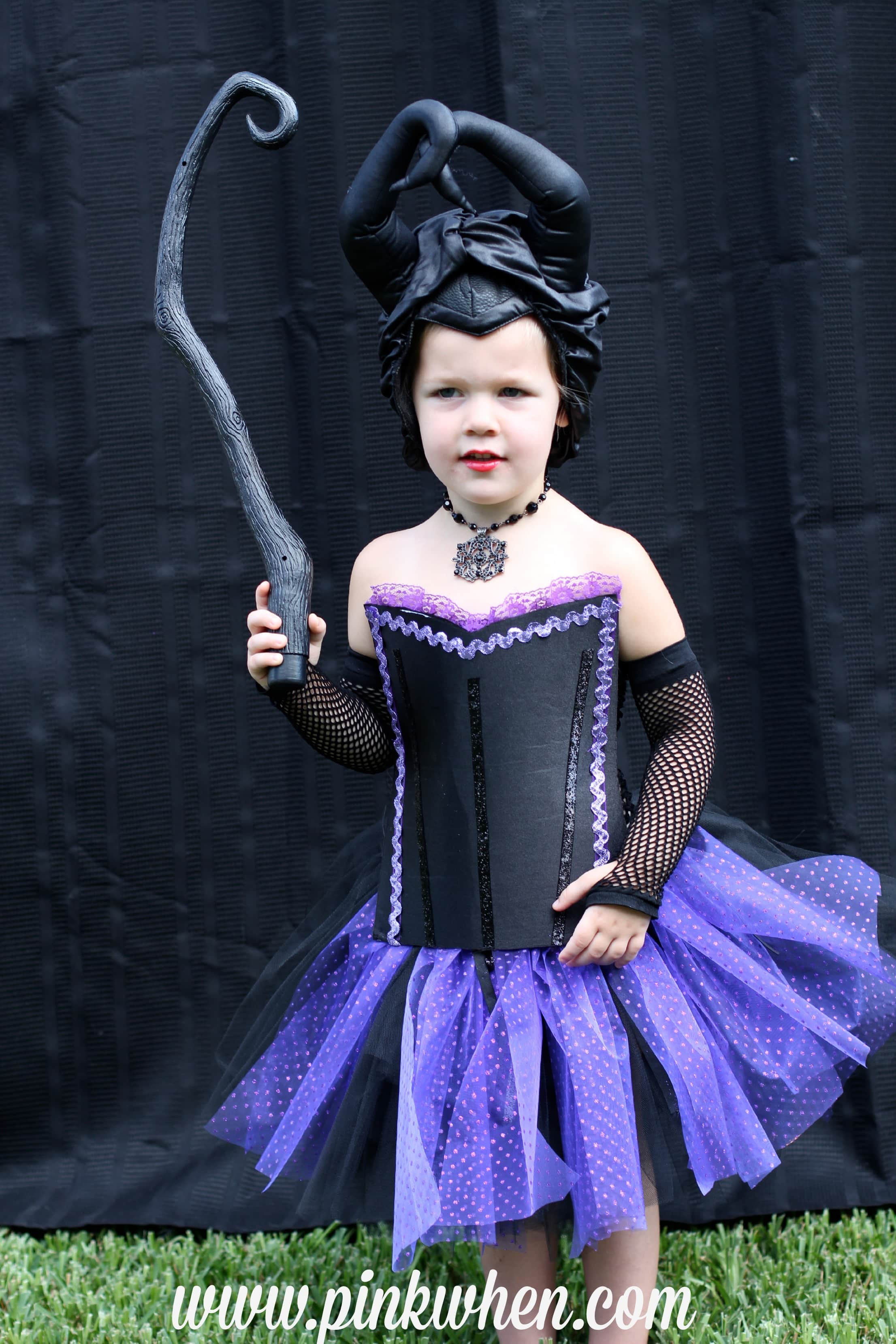 Best ideas about DIY Maleficent Costume . Save or Pin DIY No Sew Maleficent Costume Page 2 of 2 PinkWhen Now.