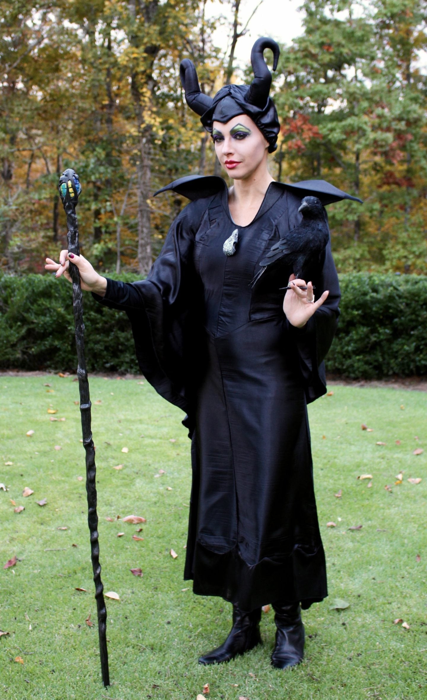 Best ideas about DIY Maleficent Costume . Save or Pin Diy Maleficent costume & Maleficent makeup tutorial Now.