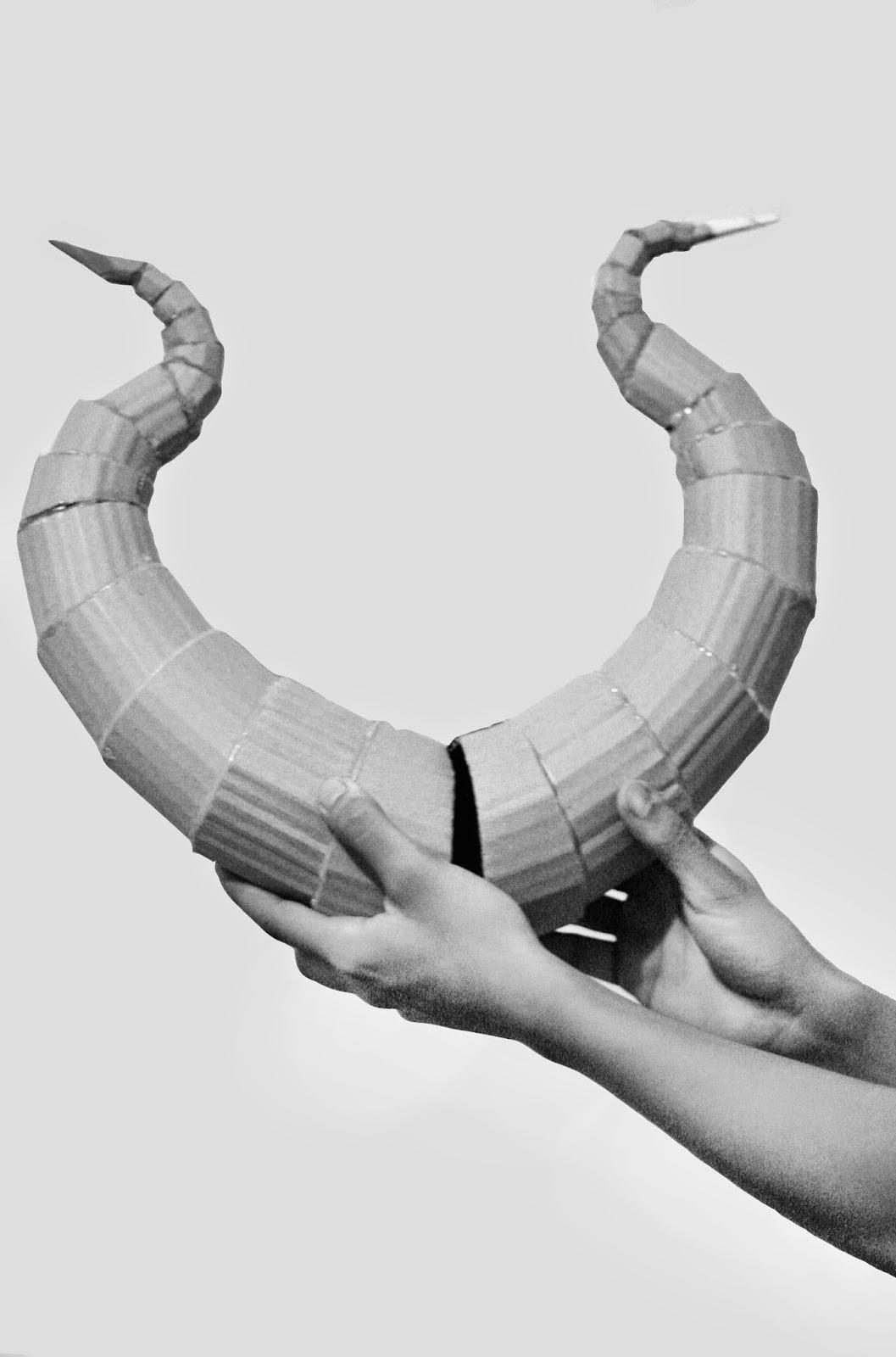 Best ideas about DIY Maleficent Horns . Save or Pin oishari DIY Lightweight Costume Horns Now.