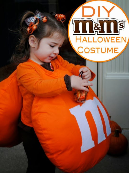 Best ideas about DIY M&M Costume . Save or Pin Two It Yourself DIY M&M Halloween Costume with Matching Now.