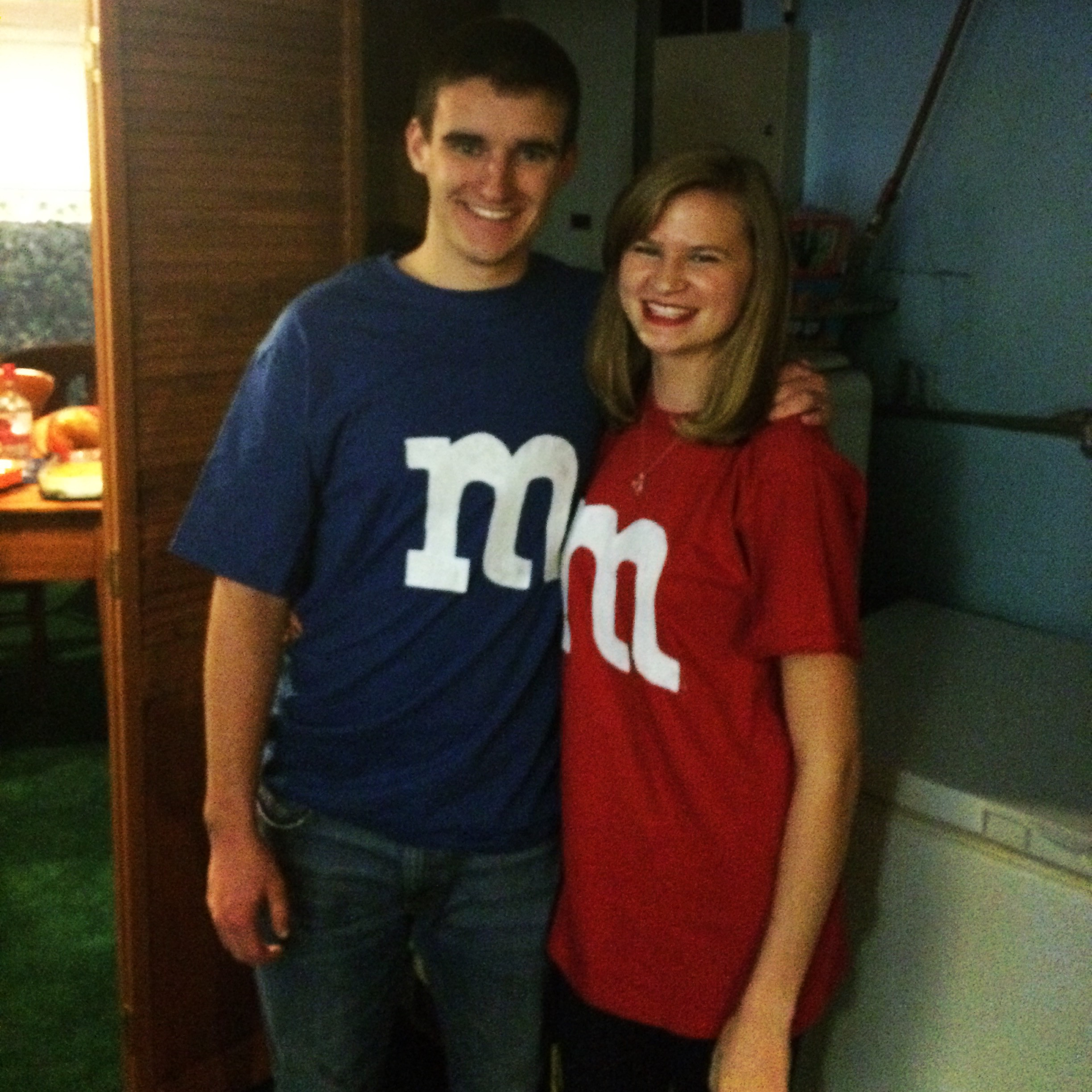 Best ideas about DIY M&M Costume . Save or Pin DIY Couples M&M Costume Now.