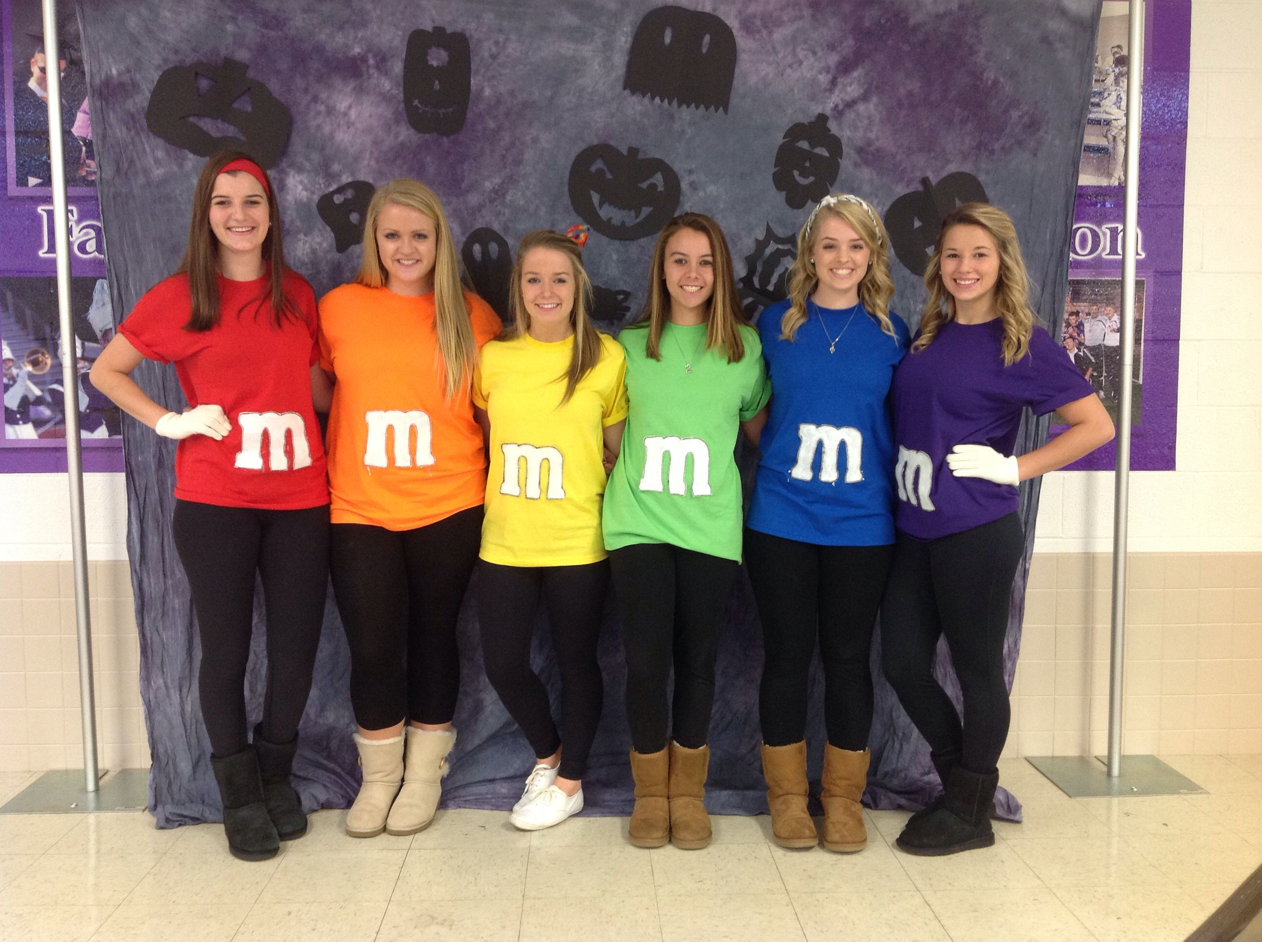 Best ideas about DIY M&M Costume . Save or Pin M&M s for this years Halloween costume diy Now.