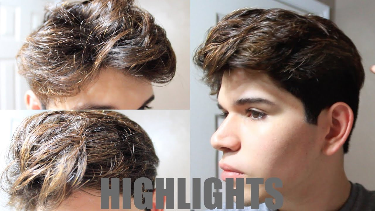Best ideas about Diy Mens Haircuts . Save or Pin DIY MENS HAIR HIGHLIGHTS Now.