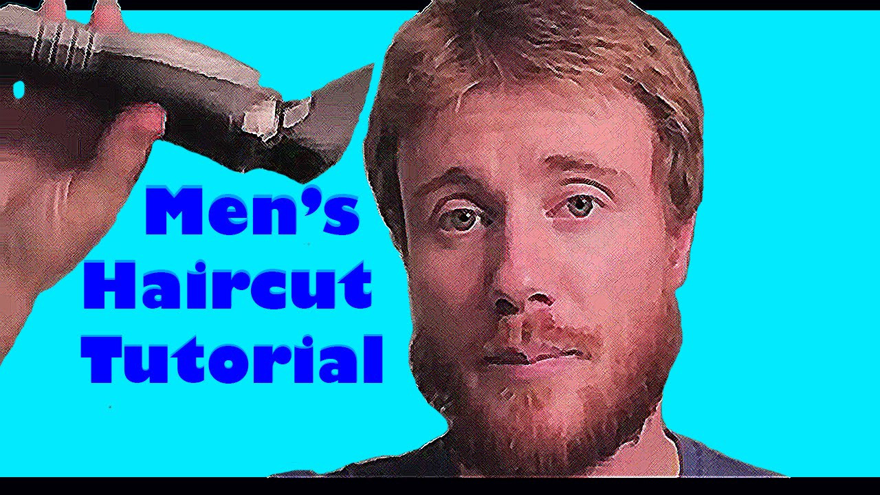 Best ideas about Diy Mens Haircuts . Save or Pin DO IT YOURSELF MEN s HAIR CUT TUTORIAL QUICK & EASY Now.