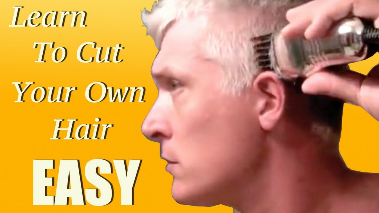 Best ideas about Diy Mens Haircuts . Save or Pin Learn how to give yourself a haircut in 5 minutes Now.