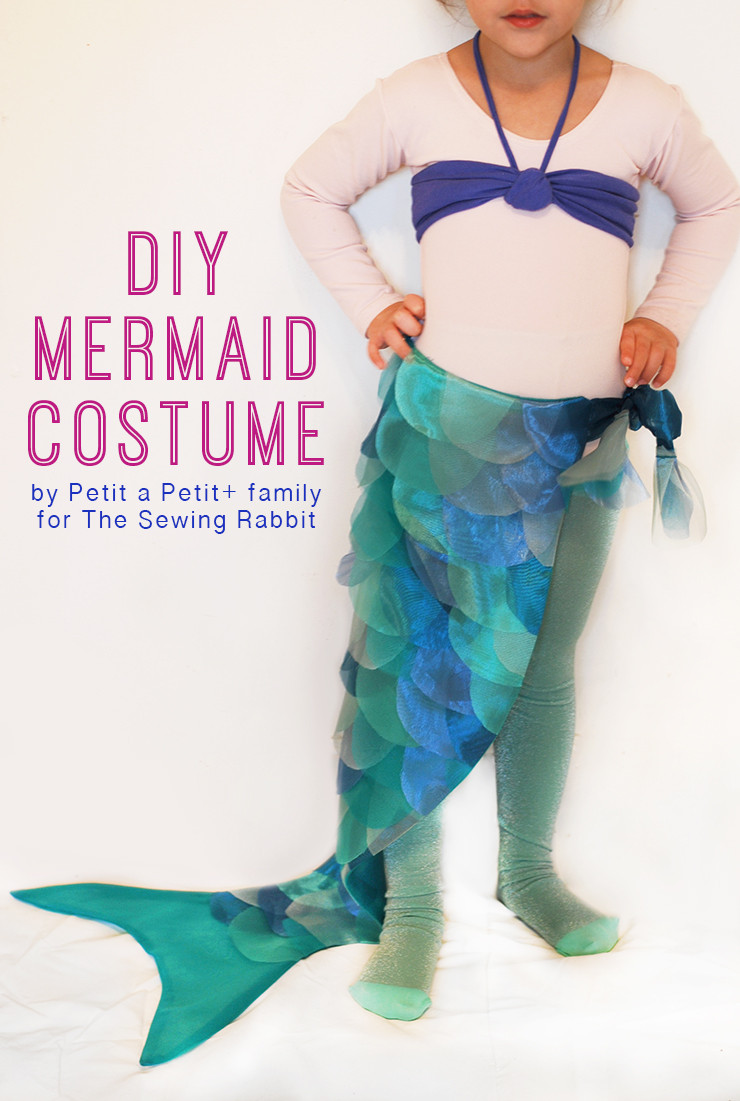 Best ideas about DIY Mermaid Halloween Costumes . Save or Pin DIY Mermaid Costume The Sewing Rabbit Now.
