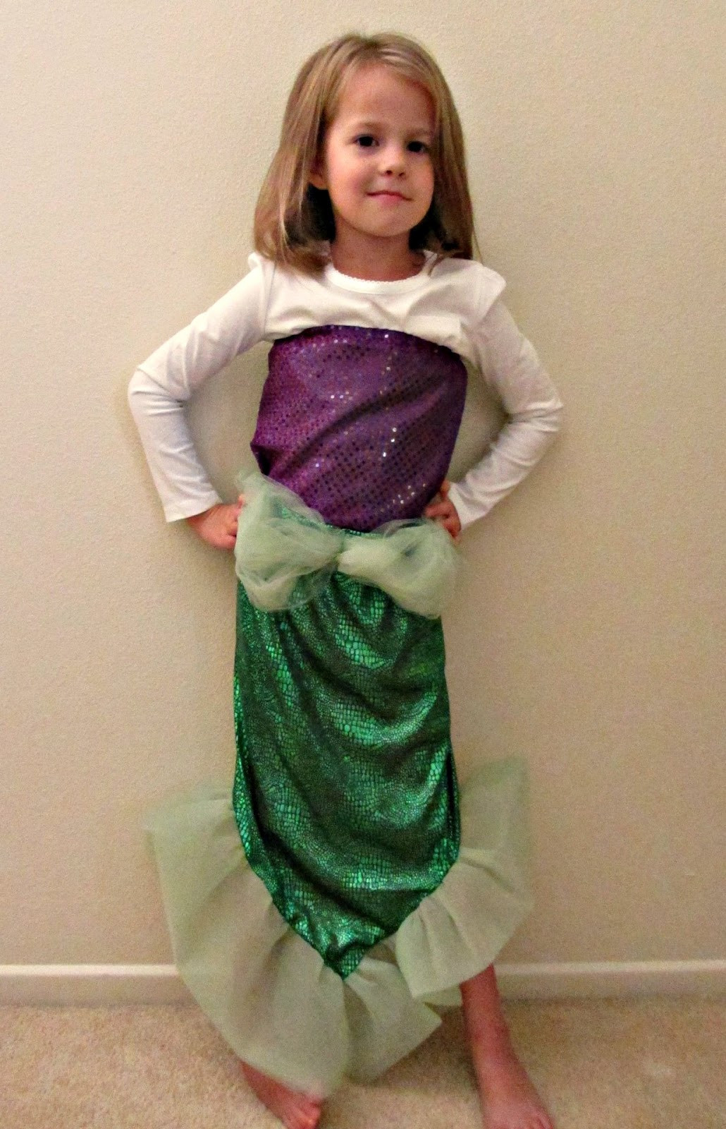 Best ideas about DIY Mermaid Halloween Costumes . Save or Pin Chadwicks Picture Place Homemade Mermaid Costume Now.