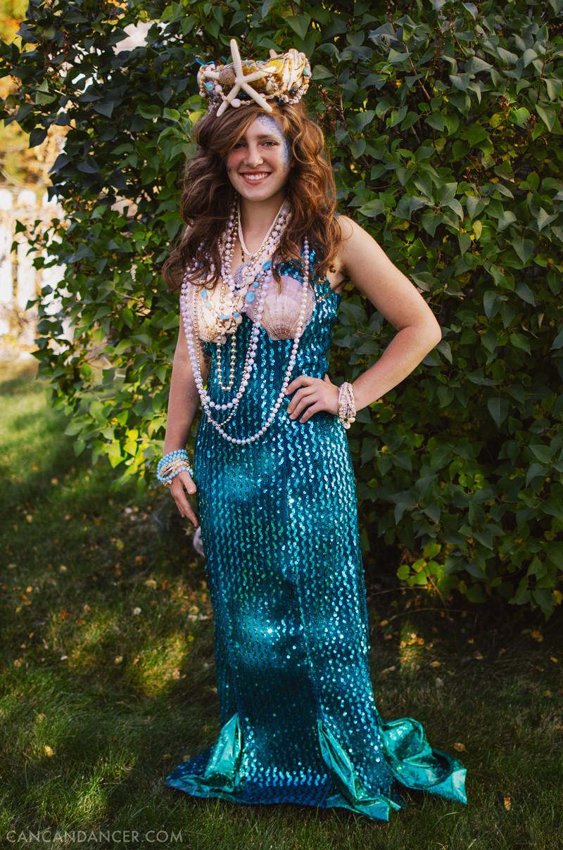 Best ideas about DIY Mermaid Halloween Costumes . Save or Pin DIY Halloween Costume 2 – Mermaid Now.