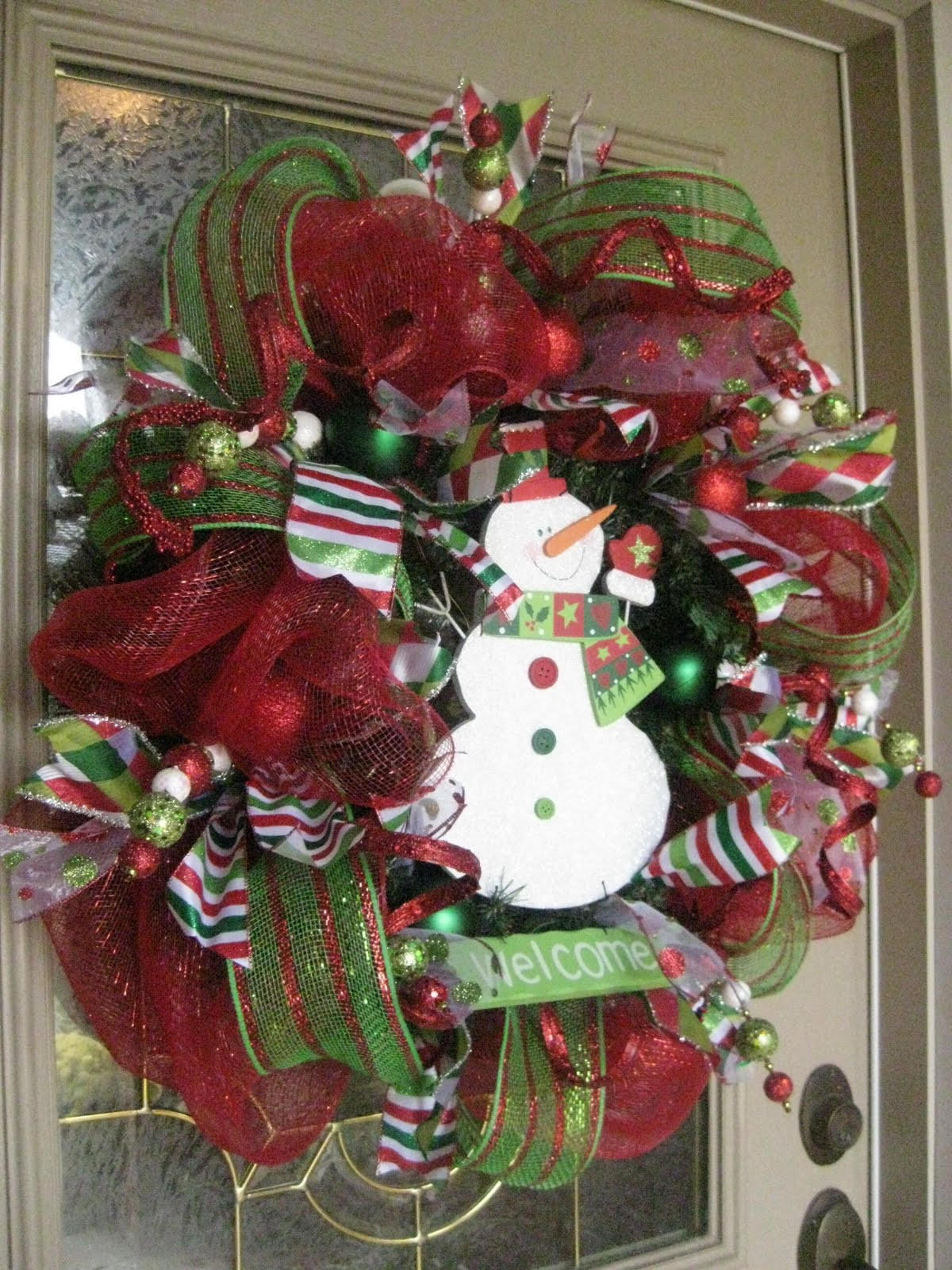 Best ideas about DIY Mesh Christmas Wreath . Save or Pin Always Something 10 DIY Christmas Decor Ideas Now.