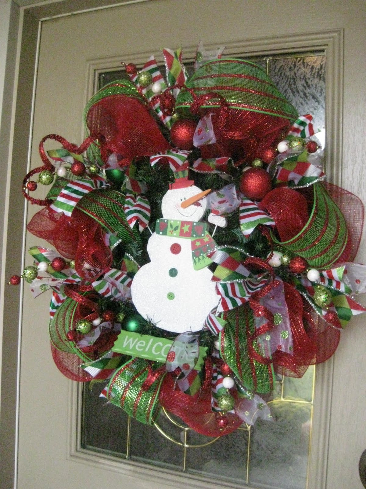 Best ideas about DIY Mesh Christmas Wreath . Save or Pin Kristen s Creations Christmas Mesh Wreath Tutorial Now.