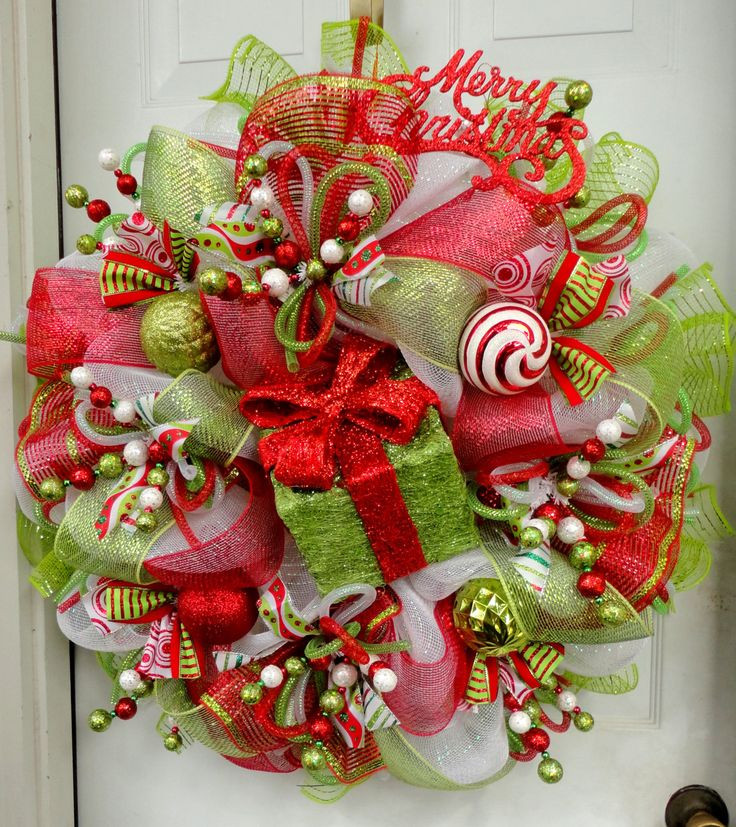 Best ideas about DIY Mesh Christmas Wreath . Save or Pin Best 25 Christmas wreaths ideas on Pinterest Now.