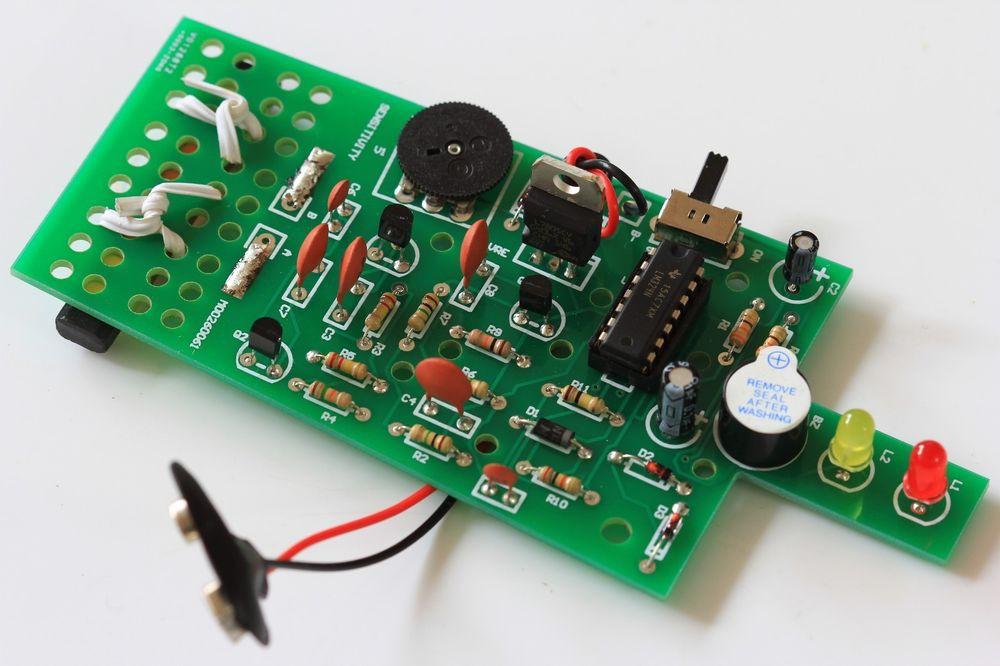 Best ideas about DIY Metal Detector Kit . Save or Pin DIY METAL DETECTOR PCB Electronic Kit Now.