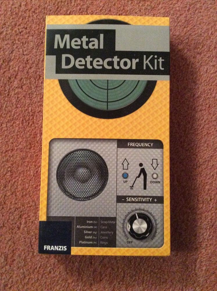 Best ideas about DIY Metal Detector Kit . Save or Pin Franzis Metal Detector kit DIY Now.