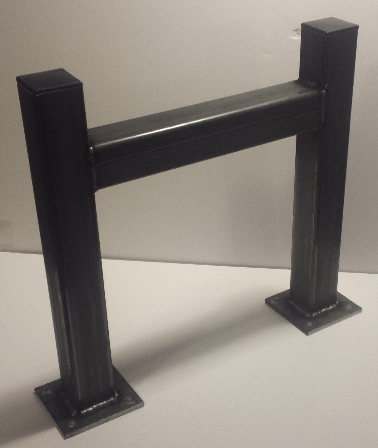 Best ideas about DIY Metal Table Legs . Save or Pin DIY Square Heavy Duty Metal Tube Table Legs Set of 2 Now.
