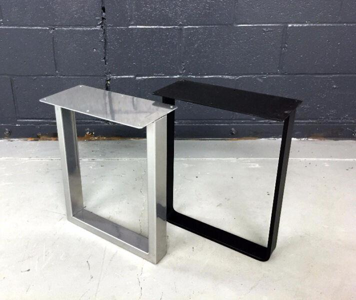 Best ideas about DIY Metal Table Legs . Save or Pin DIY Steel Metal Bench Legs Coffee Table Legs Table legs Now.