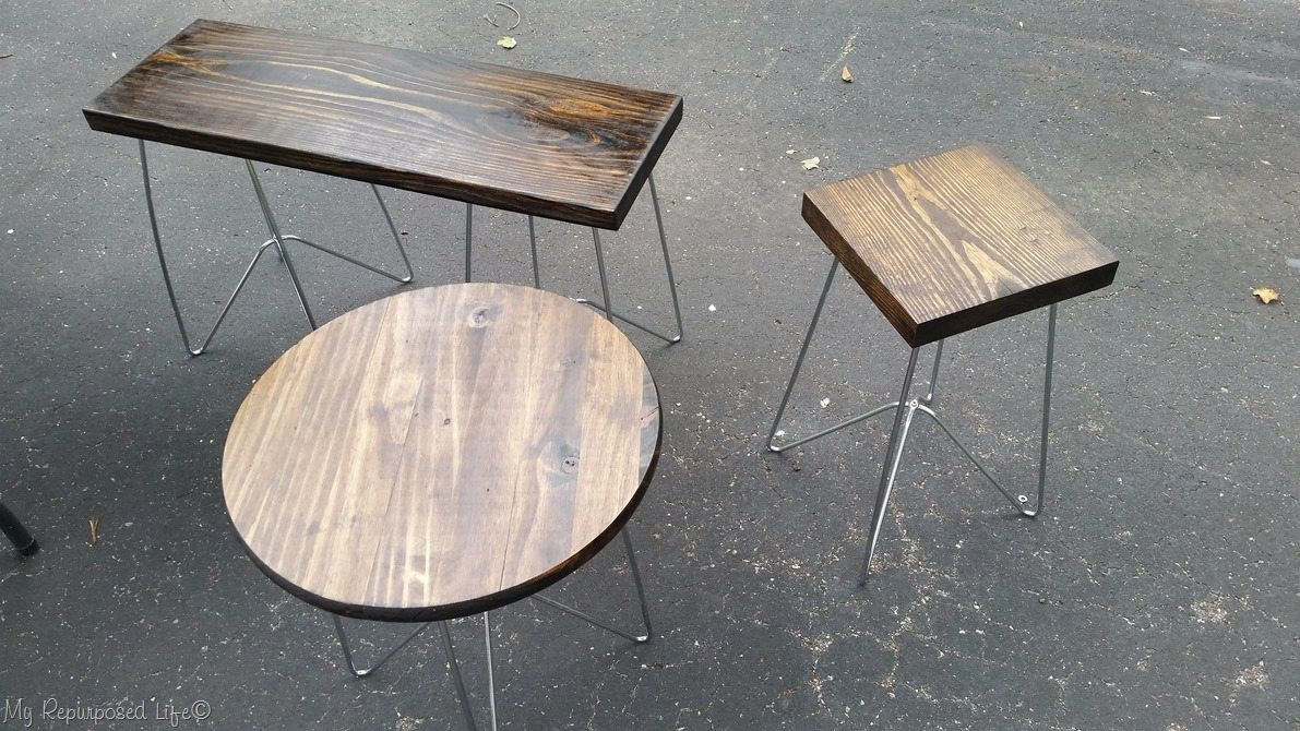 Best ideas about DIY Metal Table Legs . Save or Pin Metal Table Legs make DIY Wooden Tables and Plant Stands Now.