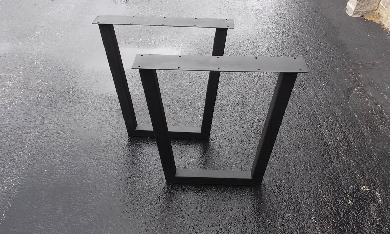 Best ideas about DIY Metal Table Legs . Save or Pin Tapered Metal Table Legs DIY Furniture Frame Any Size Now.