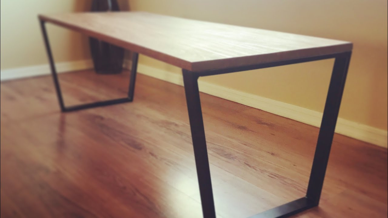 Best ideas about DIY Metal Table Legs . Save or Pin DIY Coffee Table Welding Metal Table Legs Now.