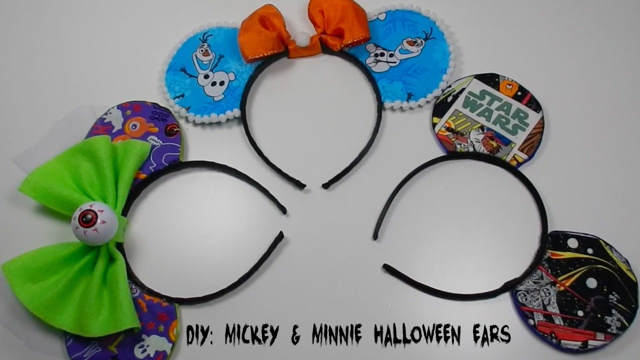 Best ideas about DIY Mickey Ears . Save or Pin DIY Mickey Mouse Ears Halloween Costume Now.