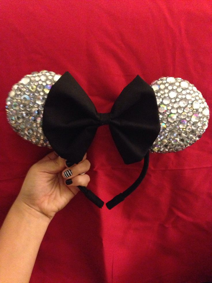 Best ideas about DIY Mickey Ears . Save or Pin Diy Minnie Mouse ears Disney Pinterest Now.