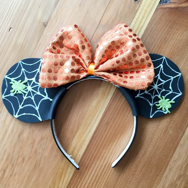 Best ideas about DIY Mickey Ears . Save or Pin DIY Spiderweb Mickey Ears for Halloween This Fairy Tale Life Now.