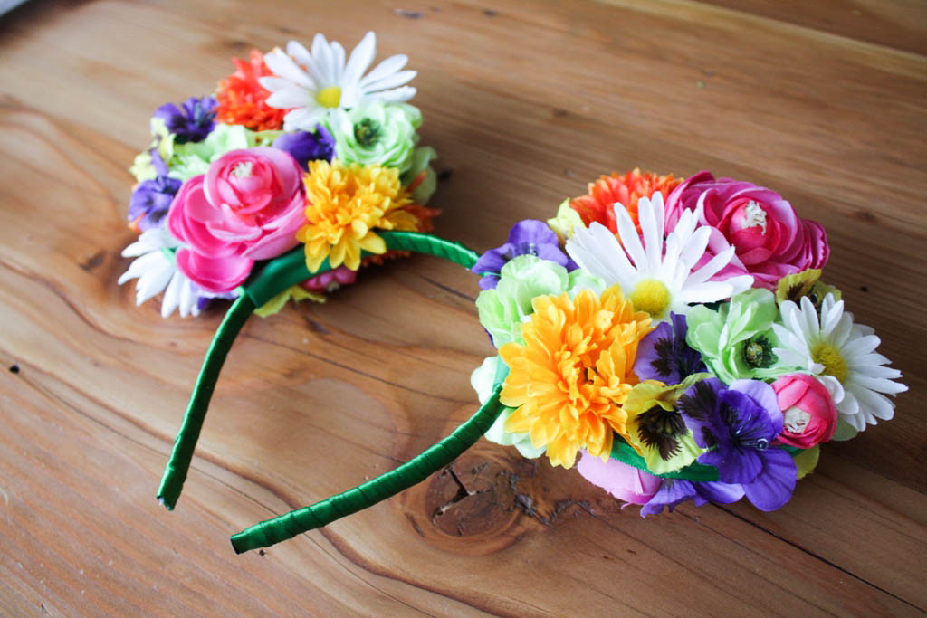 Best ideas about DIY Mickey Ears . Save or Pin DIY Floral Mickey Ears This Fairy Tale Life Now.