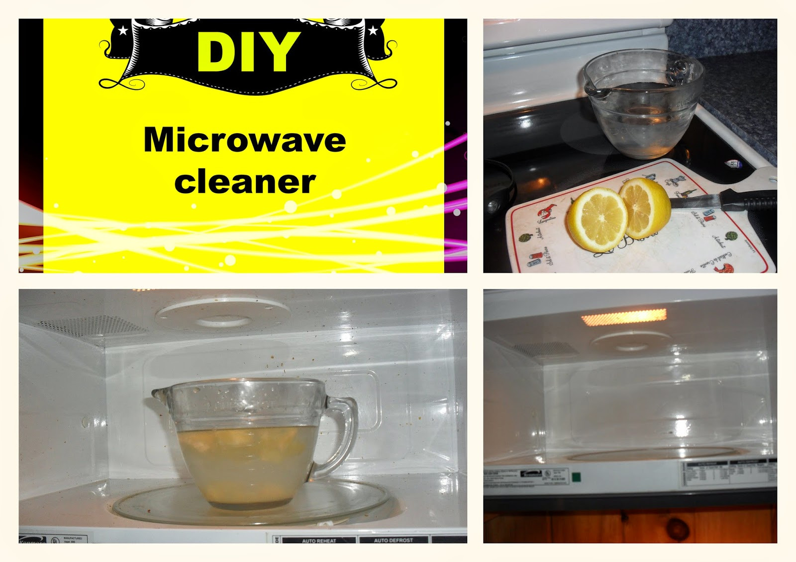 Best ideas about DIY Microwave Cleaner . Save or Pin Simply Me DIY Microwave all natural cleaner Now.