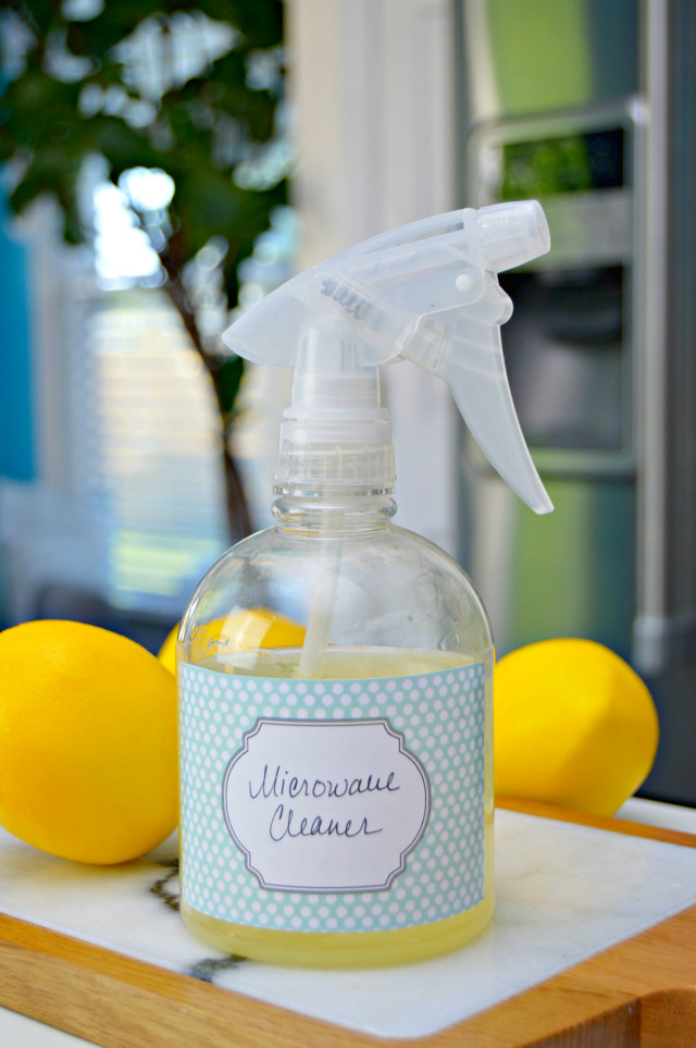 Best ideas about DIY Microwave Cleaner . Save or Pin Homemade Microwave Cleaning Spray Mom 4 Real Now.