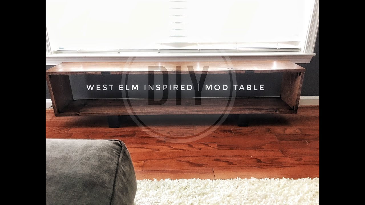 Best ideas about DIY Mid Century Modern Coffee Table . Save or Pin DIY West Elm Mid Century Modern Coffee Table Now.