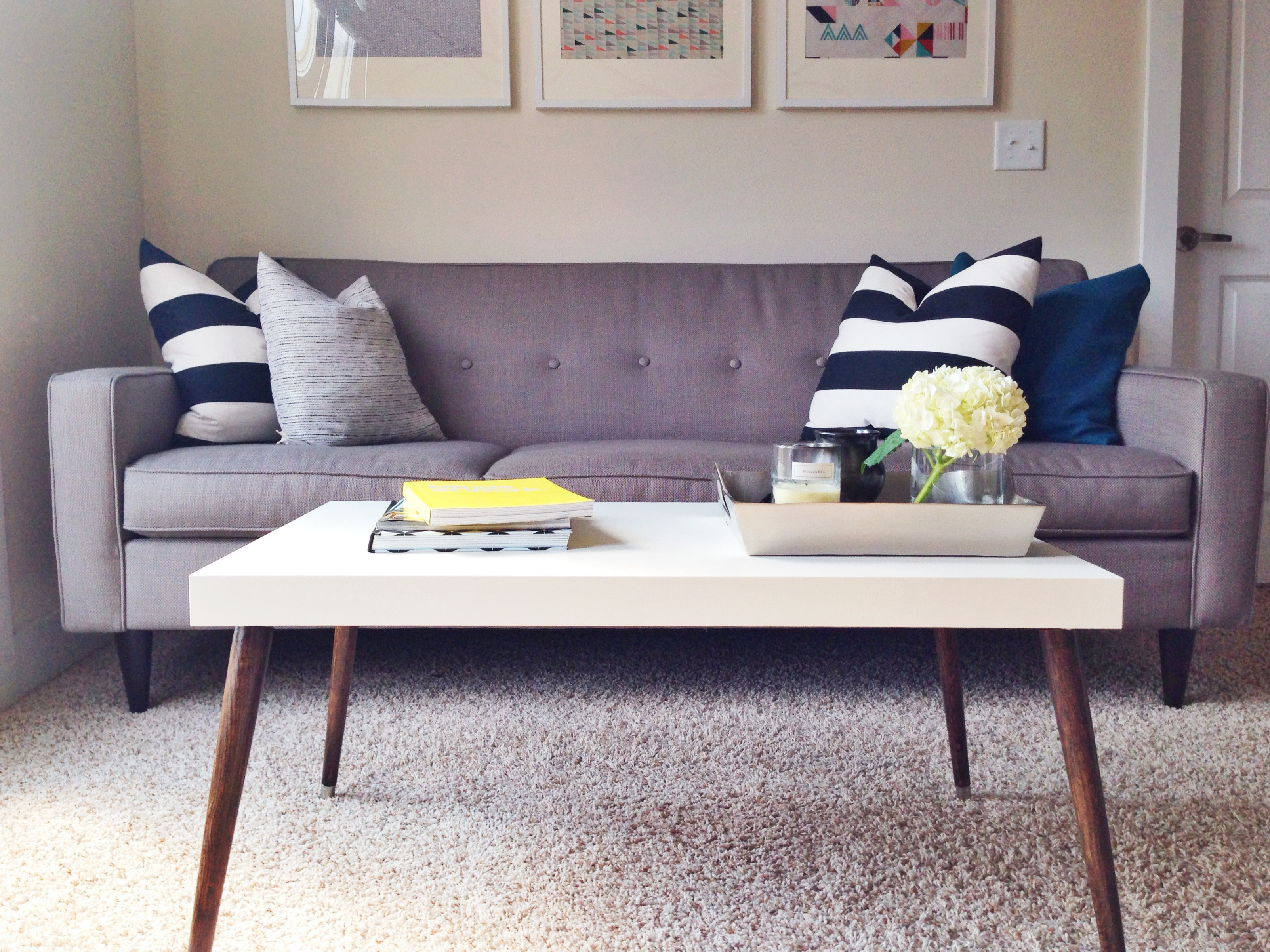 Best ideas about DIY Mid Century Modern Coffee Table . Save or Pin Awesome Ikea Hack of the Week A $60 sleek midcentury Now.