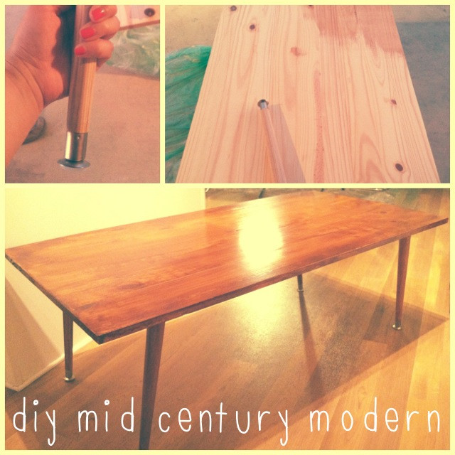 Best ideas about DIY Mid Century Modern Coffee Table . Save or Pin diy mid century coffee table Now.
