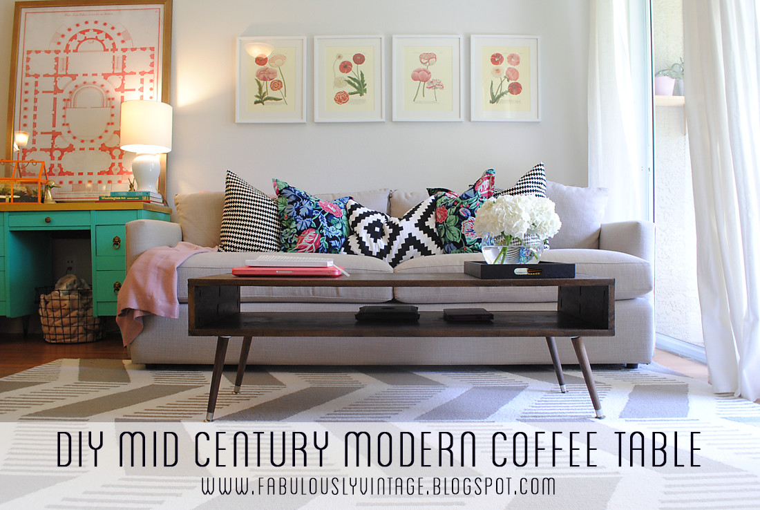 Best ideas about DIY Mid Century Modern Coffee Table . Save or Pin Fabulously Vintage DIY Mid Century Modern Coffee Table Now.