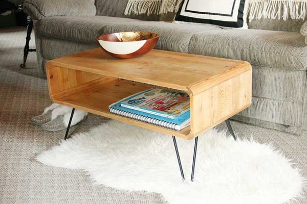 Best ideas about DIY Mid Century Modern Coffee Table . Save or Pin Remodelaholic Now.